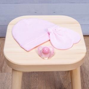 Σετ Γάντι-Σκουφάκι Pink Abo m.8119.400