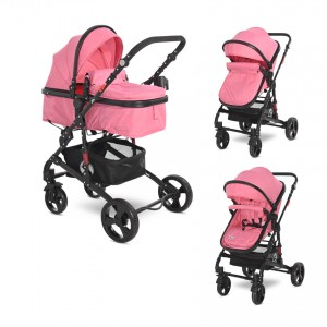 Kαρότσι Alba 2 In 1 Classic Candy Pink Lorelli 10021482189