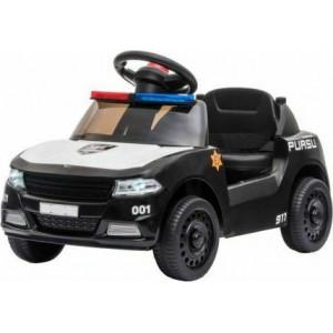 Ηλεκτροκίνητο Car Little Cop Black Kikka Boo 31006050235