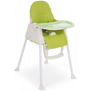 Καρέκλα Φαγητού Creamy 2 In 1 Green Kikka Boo 31004010080