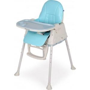 Καρέκλα Φαγητού Creamy 2 In 1 Blue Kikka Boo 31004010079
