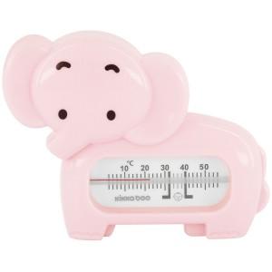 Θερμόμετρο Μπάνιου-Δωματίου Εlephant Pink Kikka Boo 31405010012