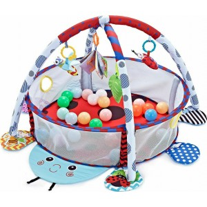 Playmat With 30 Balls Ladybug Kikka Boo 31201010236