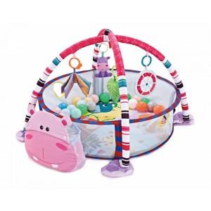 Playmat With 30 Balls Hippo Kikka Boo 31201010237