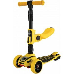 Scooter 3 Σε 1 Roadster Yellow Kikka Boo 31006010085