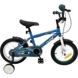 """Παιδικό Ποδήλατο 14"""" Windy Blue Makani Kikkaboo 31006040056"""