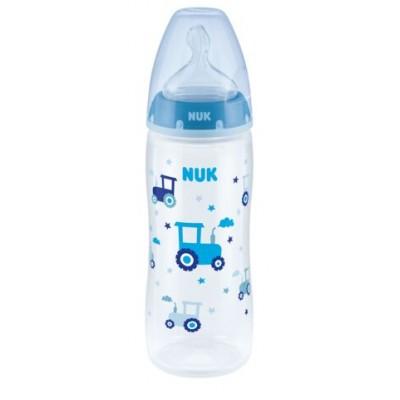 Μπιμπερό 6-18m 360ml First Choice Plus Blue Nuk 10216248