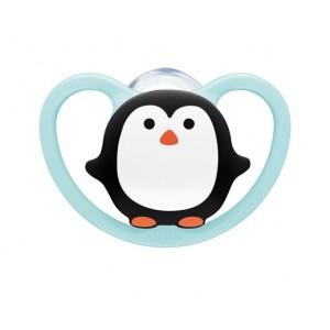 Πιπίλα Space Σιλικόνης 0-6 μηνών Πιγκουίνος Nuk 10730331