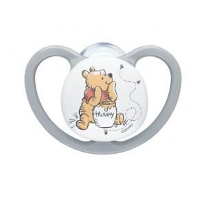 Πιπίλα Disney Winnie The Pooh Σιλικόνης Space 0-6 μηνών Γκρί Νuk 10730570