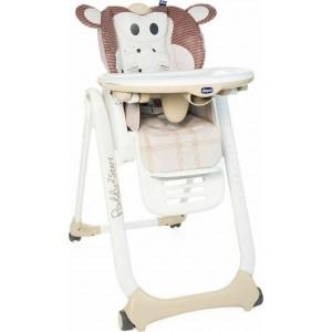 Καρέκλα Φαγητού Chicco Polly 2 Start Monkey P04-79205-33