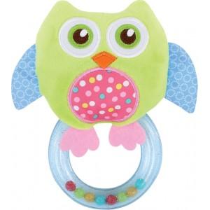 Kουδουνίστρα Owl Green Lorelli 10191290001