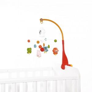 Musical Mobile Happy Animals Orange Lorelli 10310260002