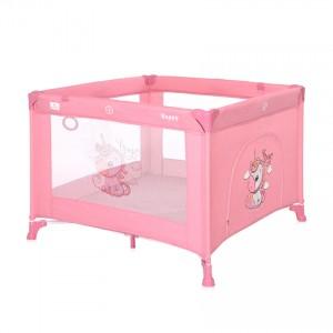 Παρκοκρέβατο Game Zone Rose Velvet Unicorn Lorelli 10080532151