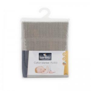 Κουβέρτα Cotton Grey Lorelli 10340111903
