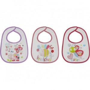 Σαλιάρα 3 Τεμαχίων Butterfly Lorelli 1026010