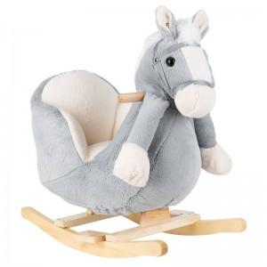 Rocking Toy Grey Horse Kikka Boo 31201040005