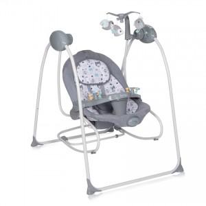 Ηλεκτρική Kούνια 2 σε 1 Tango Grey Lorelli 10090071901