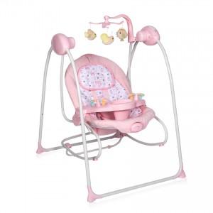 Ηλεκτρική Kούνια 2 σε 1 Tango Pink Lorelli 10090071903