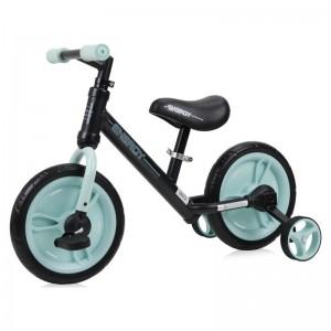 Ποδήλατο Εκμάθησης Ισορροπίας Energy 2 Σε 1 Black&Green Lorelli 10050480003