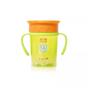 All Around With Handle Cup Green Lorelli 1023052
