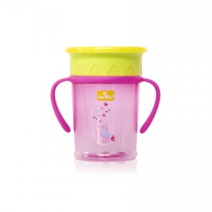 All Around With Handle Cup Pink Lorelli 1023052