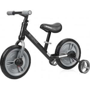Ποδήλατο Εκμάθησης Ισορροπίας Energy 2 Σε 1 Black&Grey Lorelli 10050480004