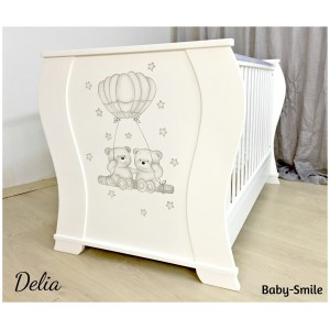 Kρεβάτι Bρεφικό Delia Baby Smile