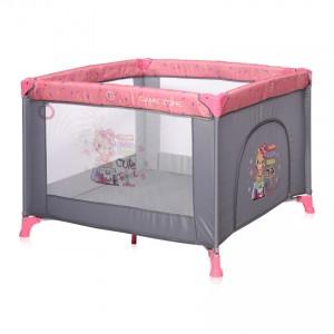 Παρκοκρέβατο Game Zone Pink Travelling Lorelli 10080142046