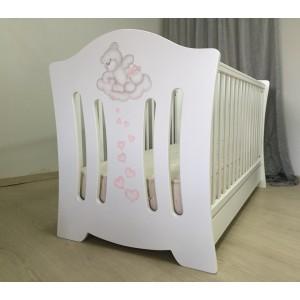 Kρεβάτι Bρεφικό Laura Baby Smile