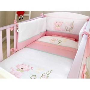 Σέτ Προίκας 3 Τεμαχίων Smile With Me Pink Νew Baby 50331500