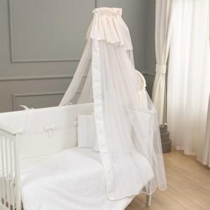 Κουνουπιέρα Premium White Funna Baby 5333