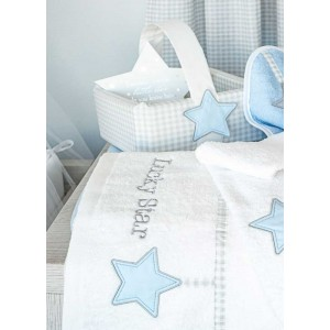 Kαλαθάκι Kαλλυντικών Lucky Star Blue Baby Oliver