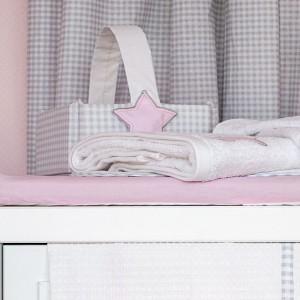 Kαλαθάκι Kαλλυντικών Lucky Star Pink Baby Oliver