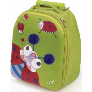 Παιδική Βαλίτσα Easy Trolley 35cm Ladybug Oops X30-31007-33