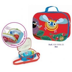 Παιδική Τσάντα Γεύματος Happy Snack Bee Oops X30-31006-35