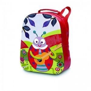 Παιδική Τσάντα Πλάτης Happy Backpack Ladybug Oops X30-30004-33